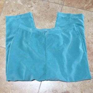 Nice Alfred Dunner NWOT Turquoise corduroys sz22W